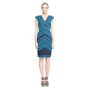 Tadashi Shoji Kolwezi Embroidered Sheath Dress